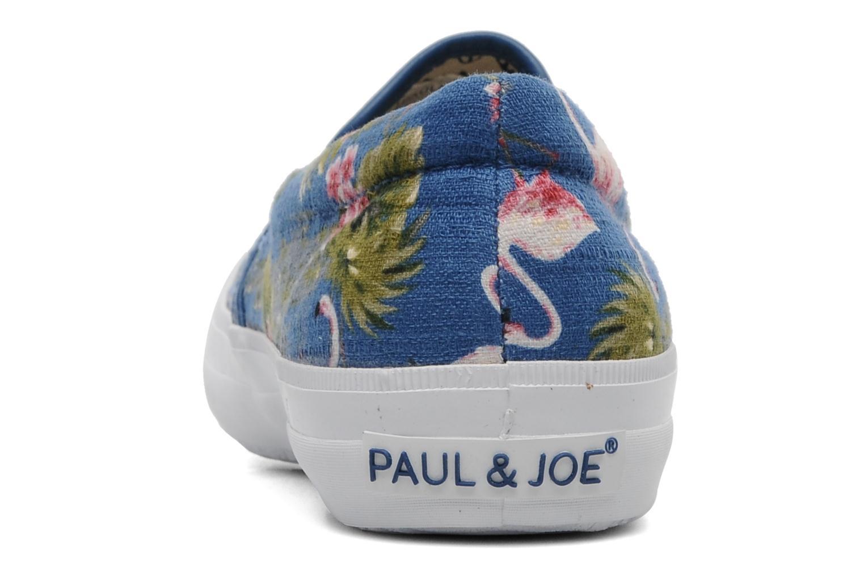 Sneaker Paul & Joe Shade blau ansicht von rechts