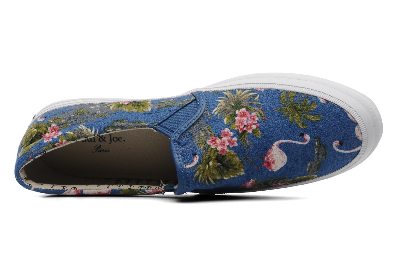 Sneaker Paul & Joe Shade blau ansicht von links