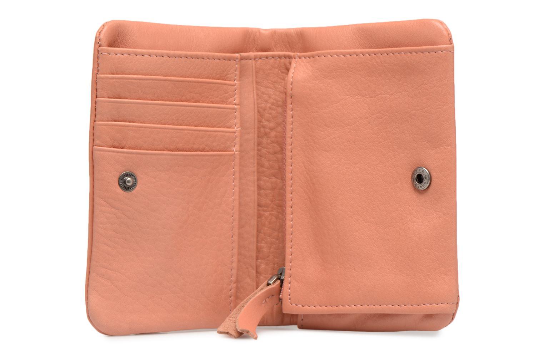 Kleine lederwaren Nat & Nin Lilou Roze achterkant