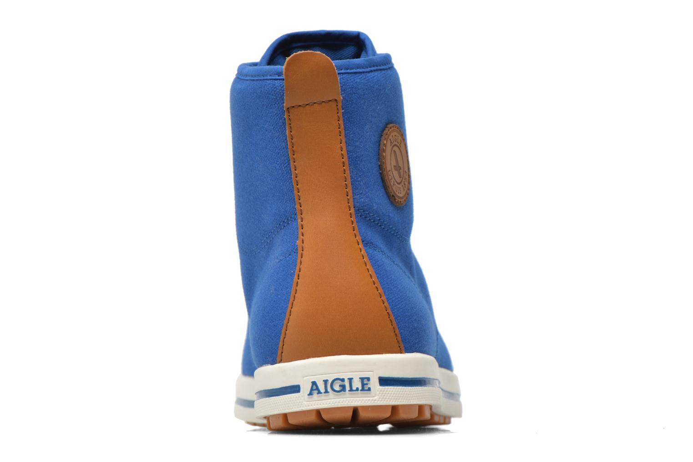 Sneaker Aigle Kitangiri Mid grau ansicht von rechts