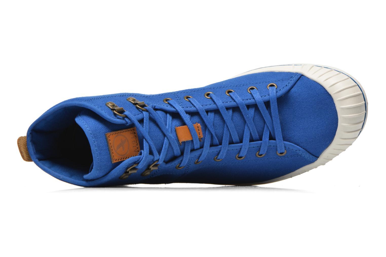 Sneaker Aigle Kitangiri Mid grau ansicht von links