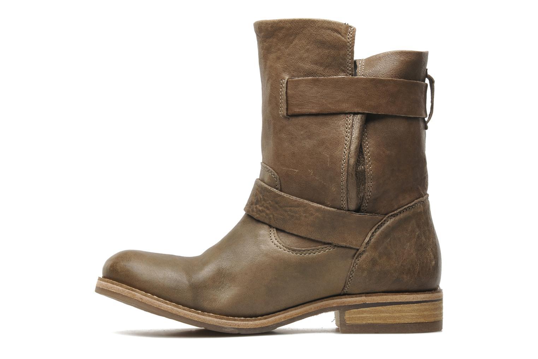 Boots en enkellaarsjes Koah Dune Beige voorkant