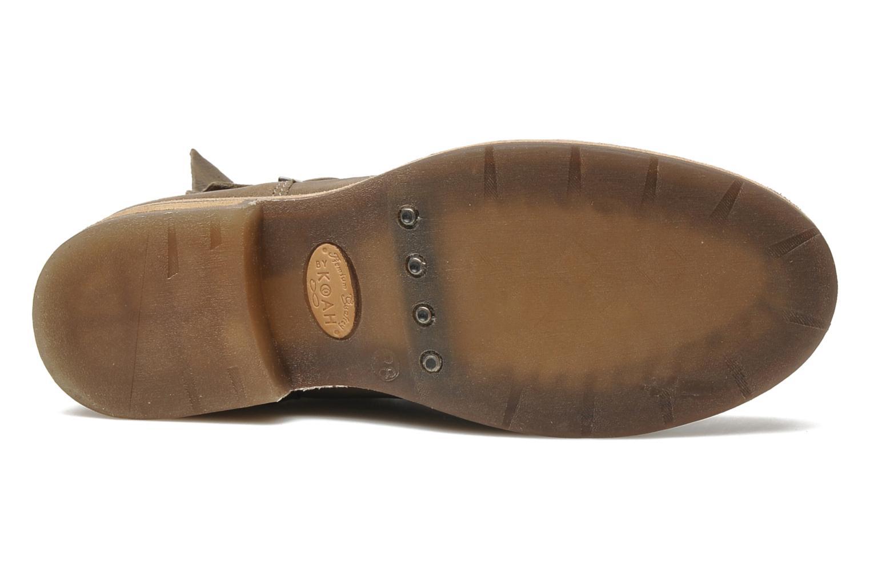 Bottines et boots Koah Dune Beige vue haut
