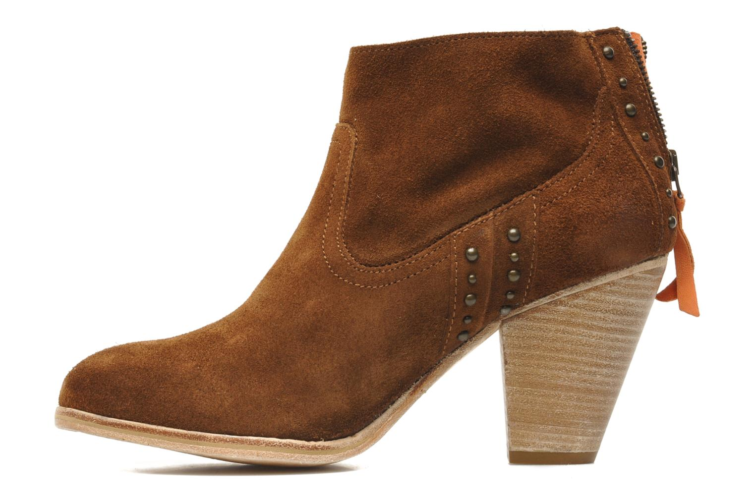 Ankle boots Koah Larissa Brown front view