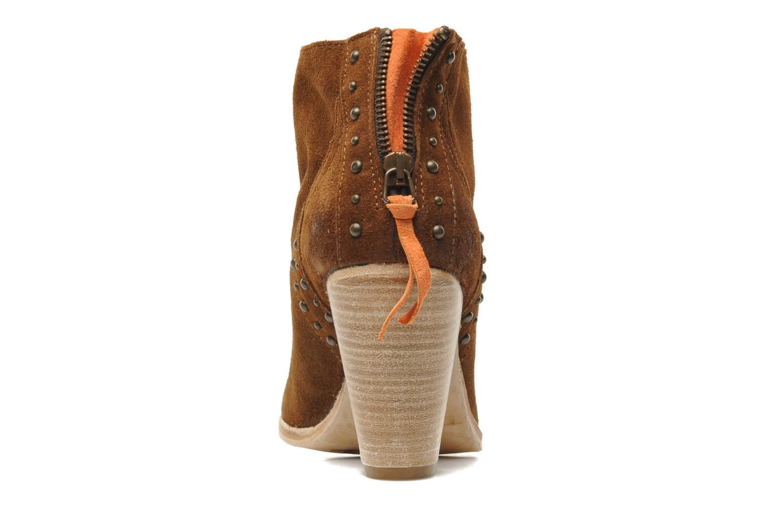 Ankle boots Koah Larissa Brown view from the right