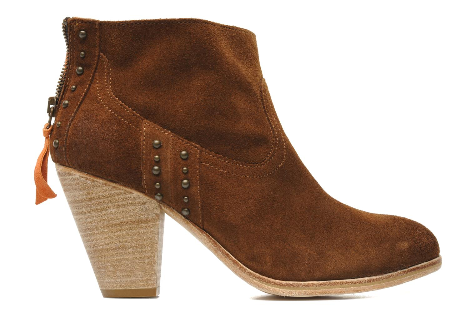 Ankle boots Koah Larissa Brown back view