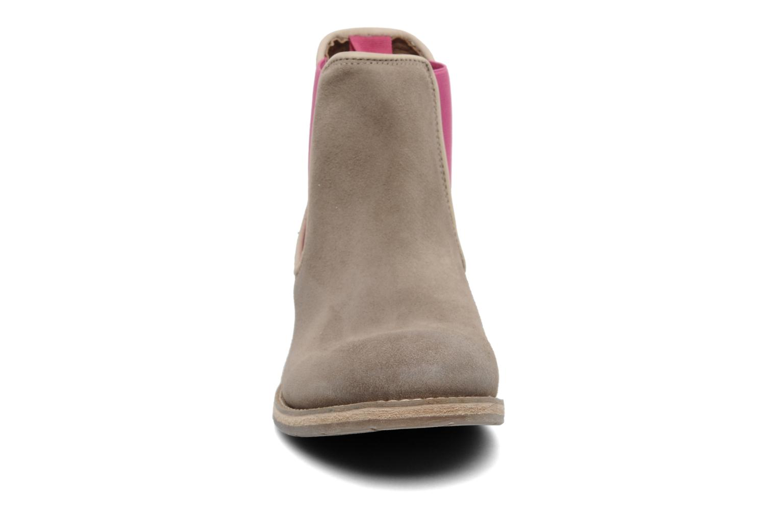 Ankle boots Koah Easton Beige model view