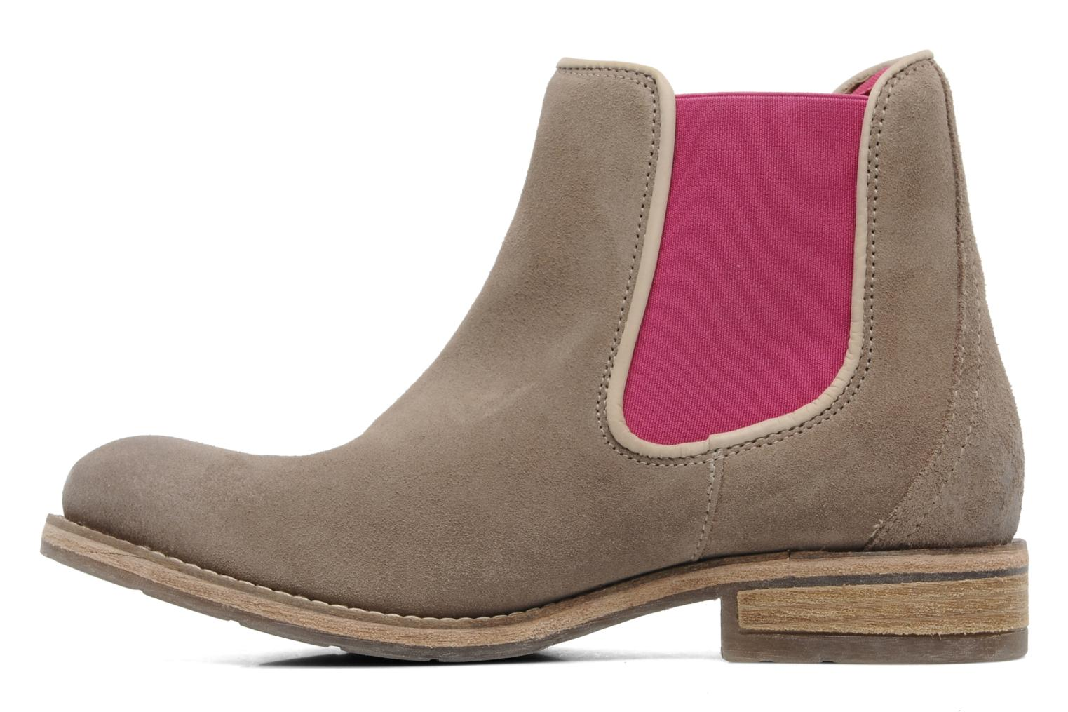 Ankle boots Koah Easton Beige front view