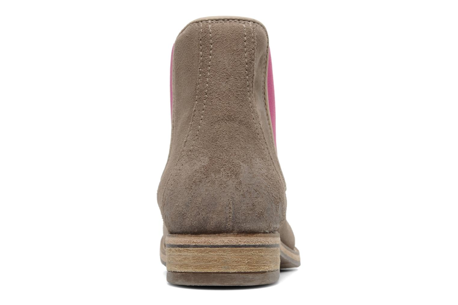 Ankle boots Koah Easton Beige view from the right