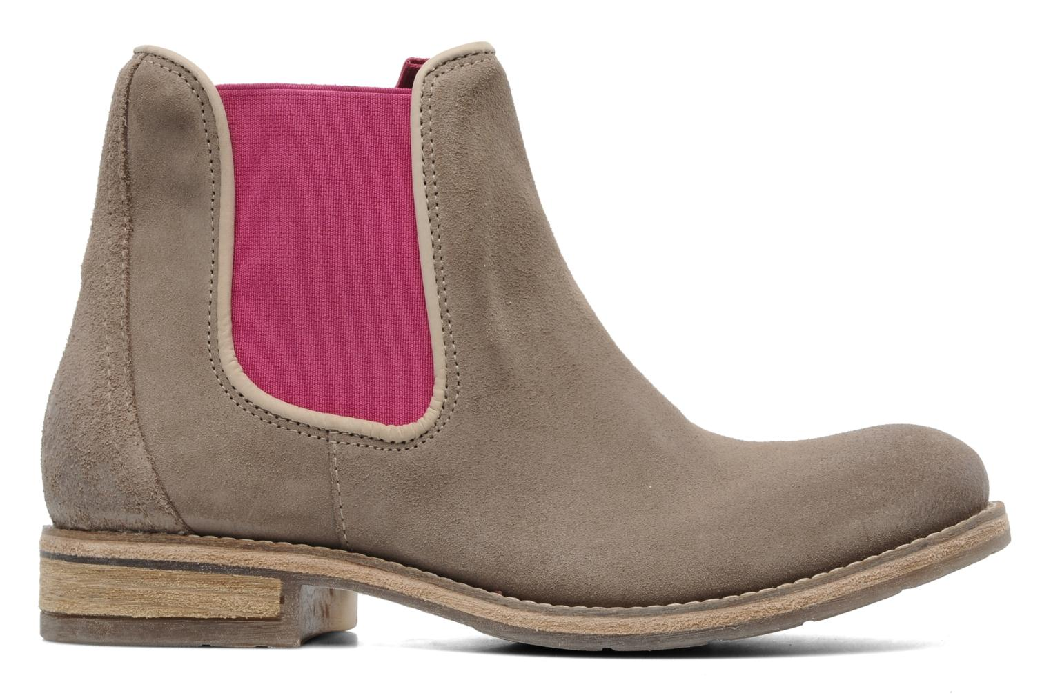 Ankle boots Koah Easton Beige back view