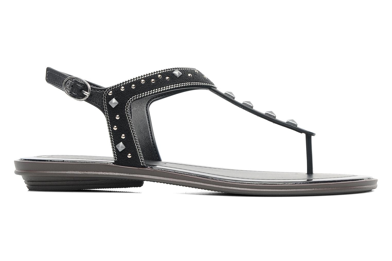 Sandales et nu-pieds Grendha Golden Fem Noir vue derrière