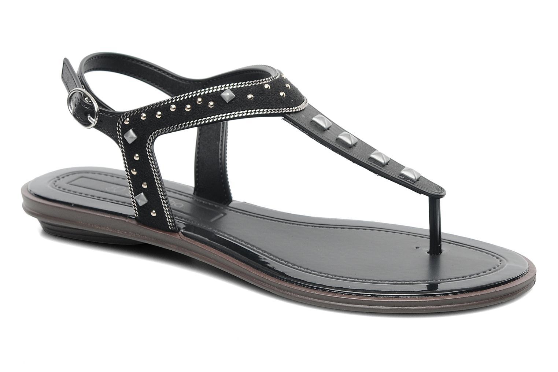 Sandales et nu-pieds Grendha Golden Fem Noir vue détail/paire
