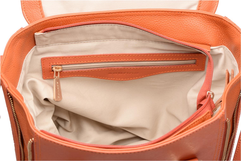 Handtassen Sabrina Ilona Oranje achterkant