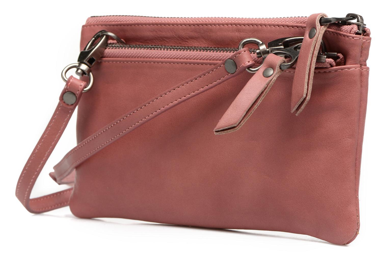 Portemonnaies & Clutches Sabrina Suri rosa ansicht von rechts