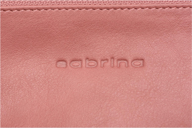 Portemonnaies & Clutches Sabrina Suri rosa ansicht von links