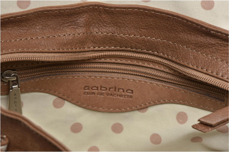 Handtaschen Sabrina Nicky braun ansicht von hinten