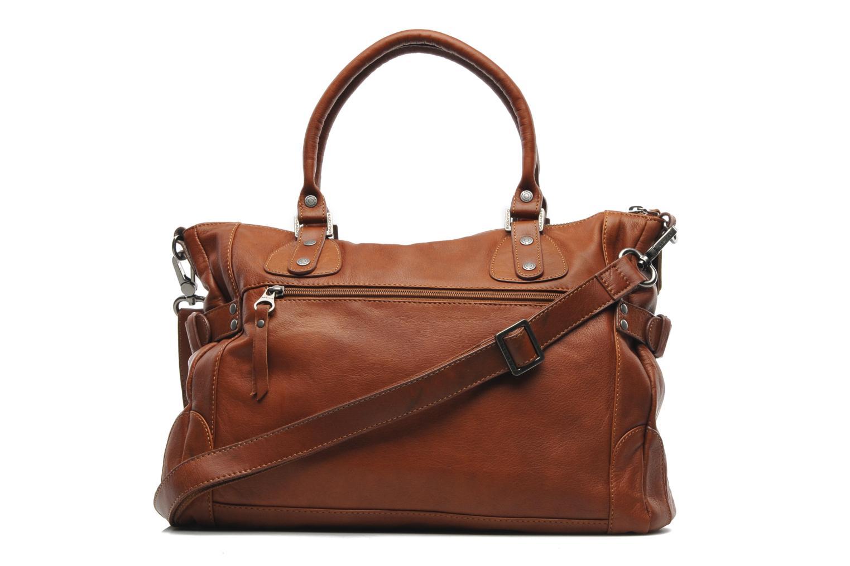 Handtassen Sabrina Camille Bruin voorkant