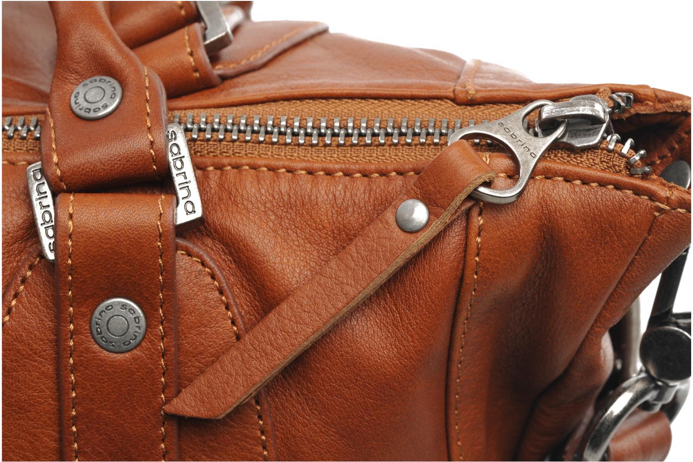 Handtaschen Sabrina Camille braun ansicht von links