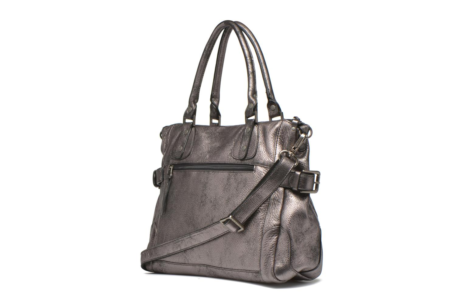 Handbags Sabrina Camille Silver view from the right