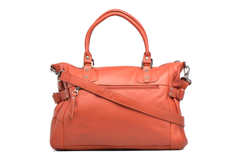 Handtaschen Sabrina Camille rot ansicht von vorne