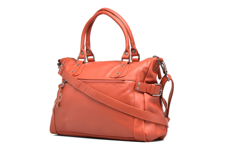 Handtaschen Sabrina Camille rot ansicht von rechts
