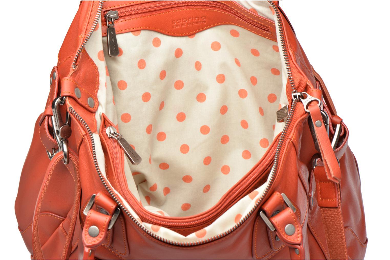 Handtaschen Sabrina Camille rot ansicht von hinten