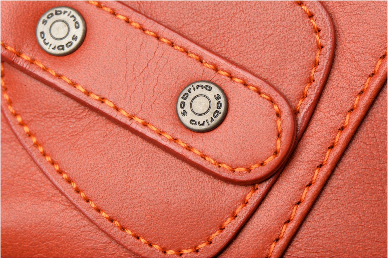 Bolsos de mano Sabrina Camille Rojo vista lateral izquierda
