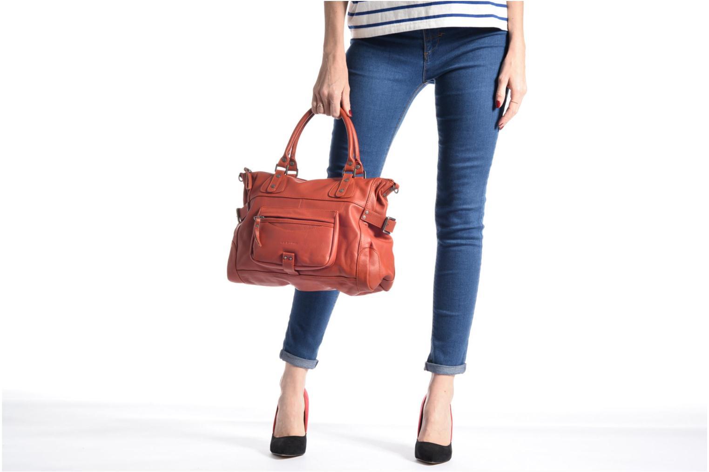 Handtaschen Sabrina Camille rot ansicht von oben