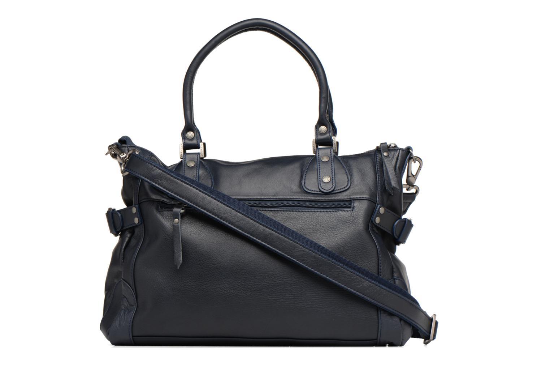Handbags Sabrina Camille Blue front view
