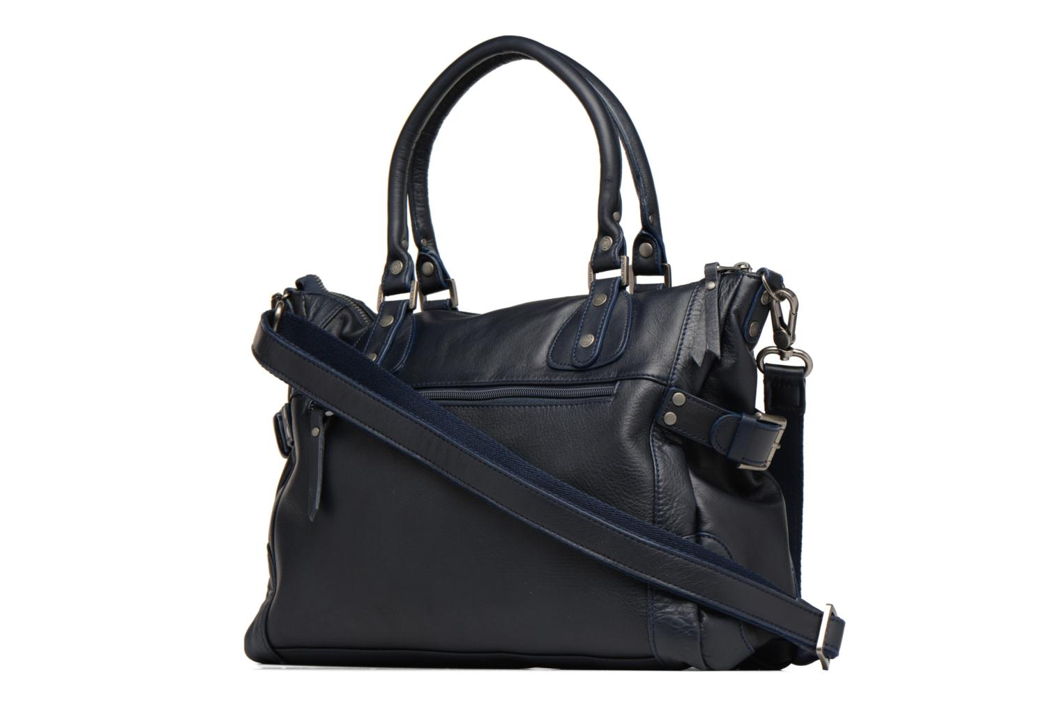 Handbags Sabrina Camille Blue view from the right