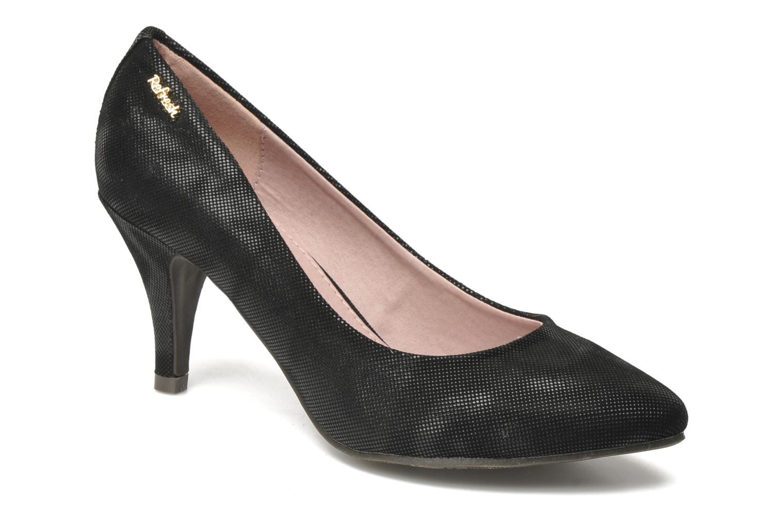 Høje hæle Refresh Bianca Sort detaljeret billede af skoene
