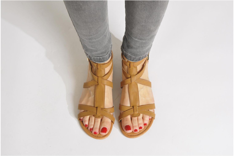 Sandales et nu-pieds Refresh Belle Rouge vue bas / vue portée sac