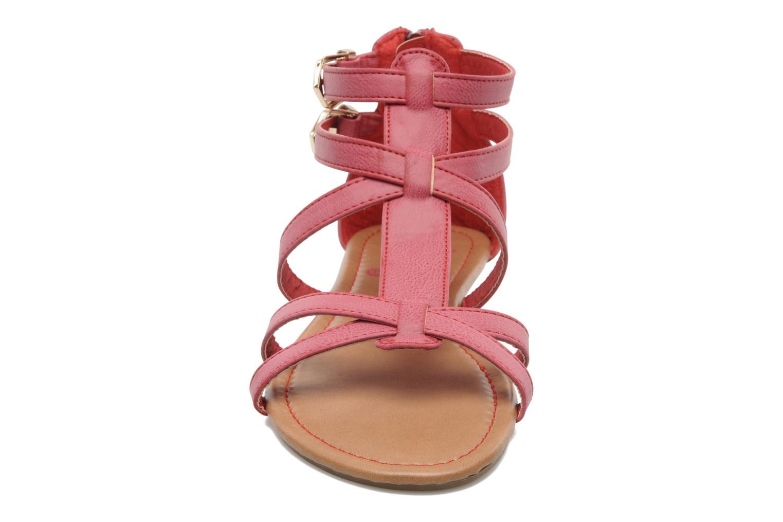 Sandales et nu-pieds Refresh Belle Rouge vue portées chaussures