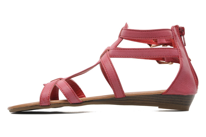 Sandales et nu-pieds Refresh Belle Rouge vue face