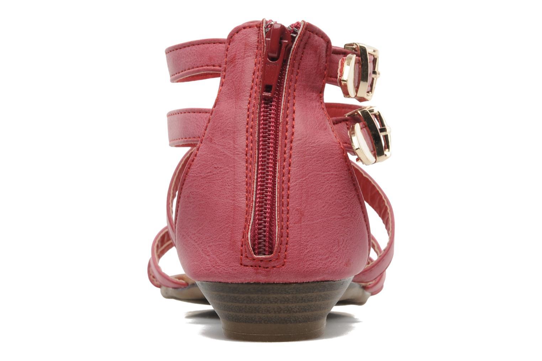 Sandales et nu-pieds Refresh Belle Rouge vue droite