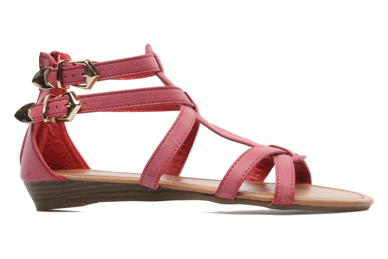 Sandales et nu-pieds Refresh Belle Rouge vue derrière