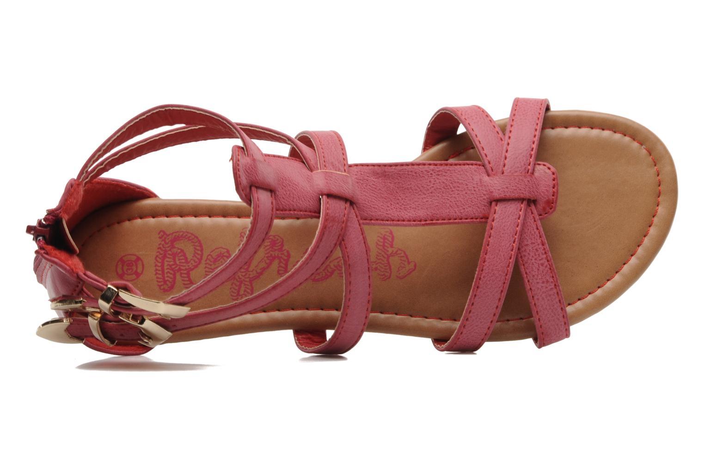 Sandales et nu-pieds Refresh Belle Rouge vue gauche