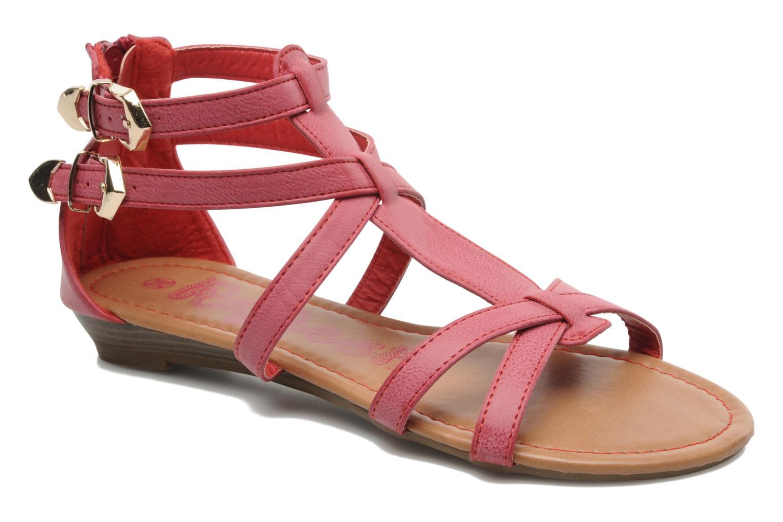 Sandales et nu-pieds Refresh Belle Rouge vue détail/paire