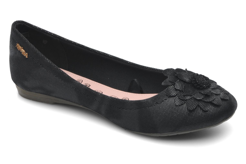Ballerinaer Refresh Bénilde Sort detaljeret billede af skoene