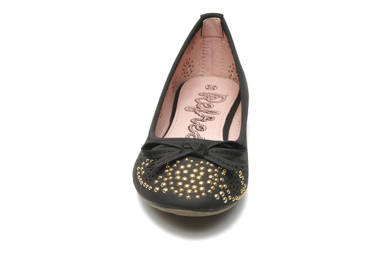 Ballerinaer Refresh Béline Sort se skoene på