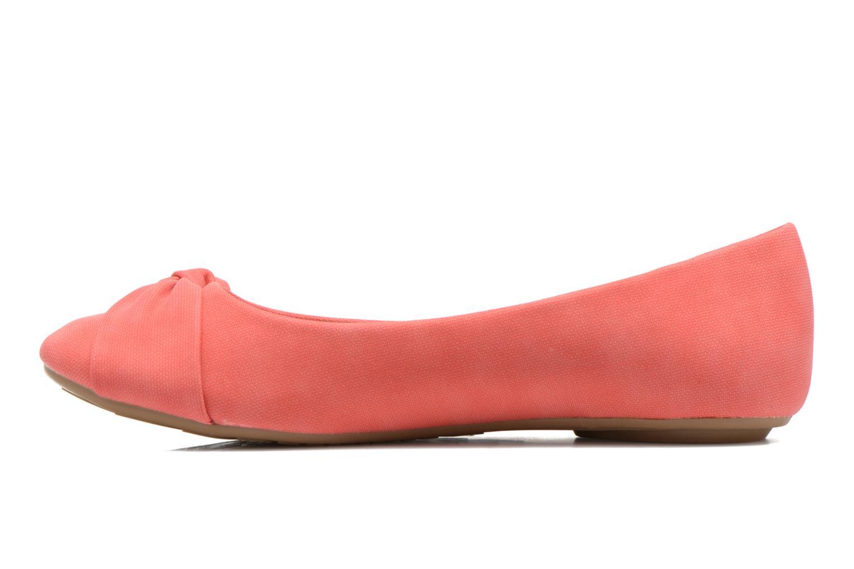 Ballerinas Refresh Billie rot ansicht von vorne
