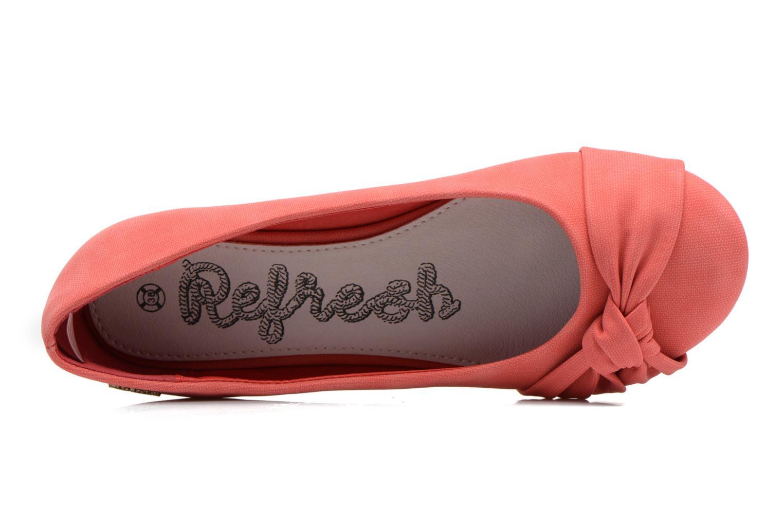 Ballerinas Refresh Billie rot ansicht von links