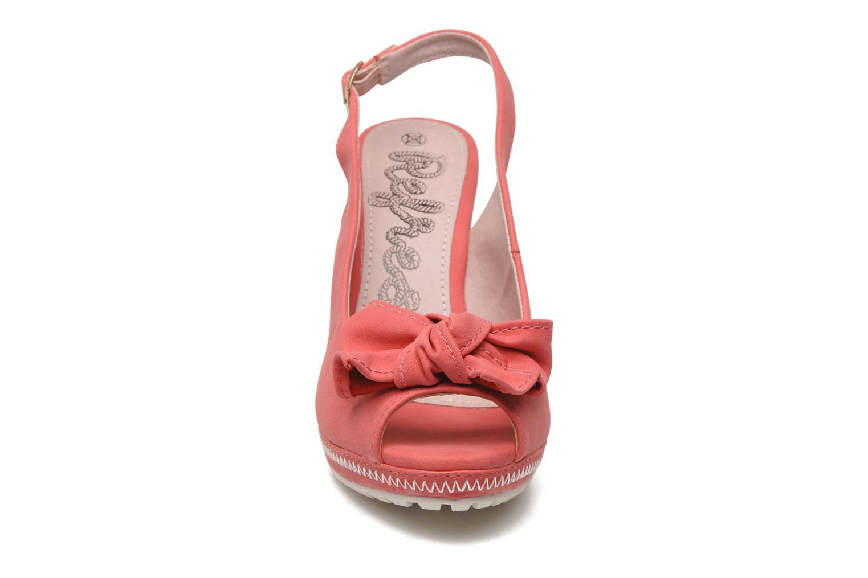 Sandalen Refresh Bojana rosa schuhe getragen