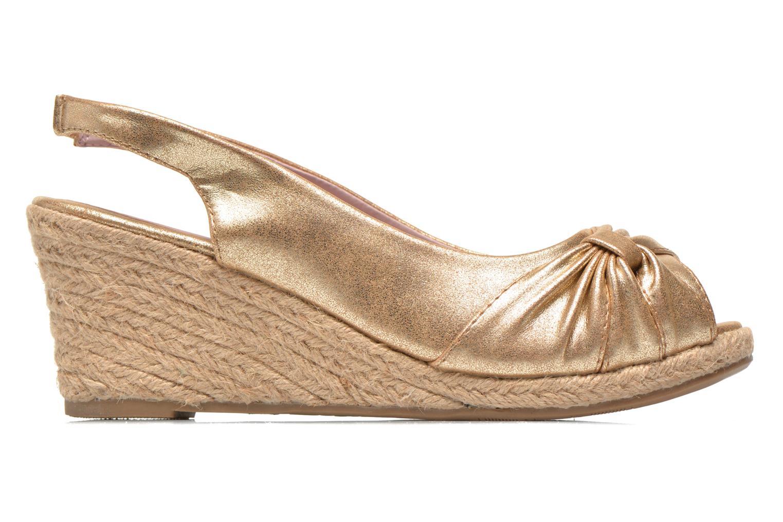 Sandales et nu-pieds Refresh Britt Or et bronze vue derrière