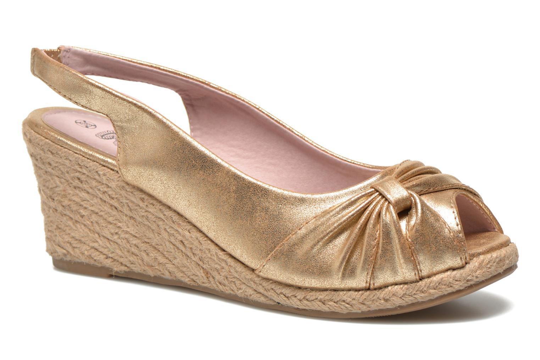 Sandales et nu-pieds Refresh Britt Or et bronze vue détail/paire
