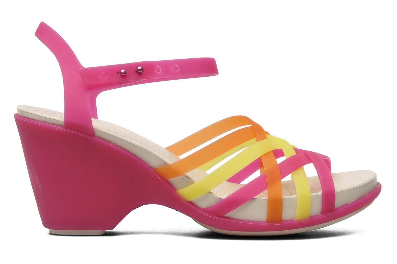 Sandales et nu-pieds Crocs Huarache Sandal Wedge Multicolore vue derrière
