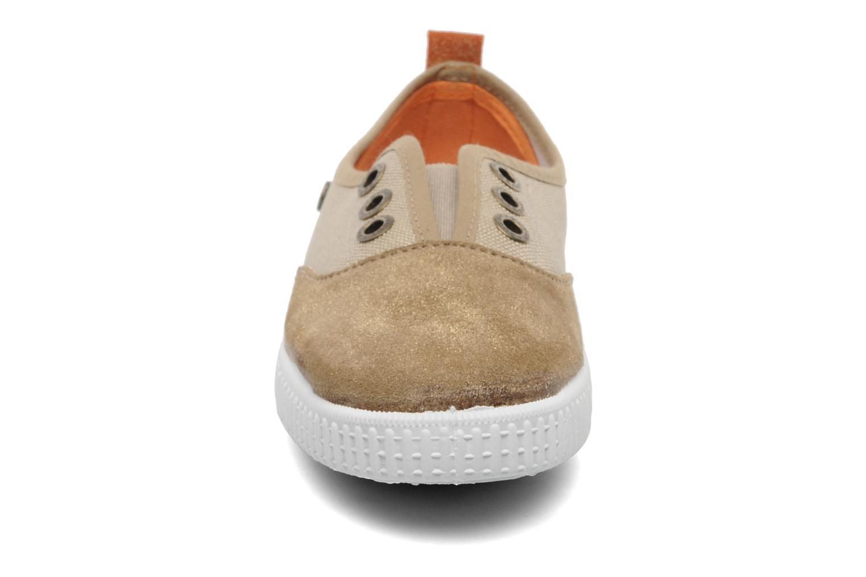 Baskets Buggy Vag Beige vue portées chaussures