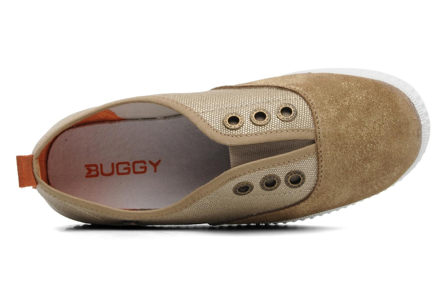Trainers Buggy Vag Beige view from the left