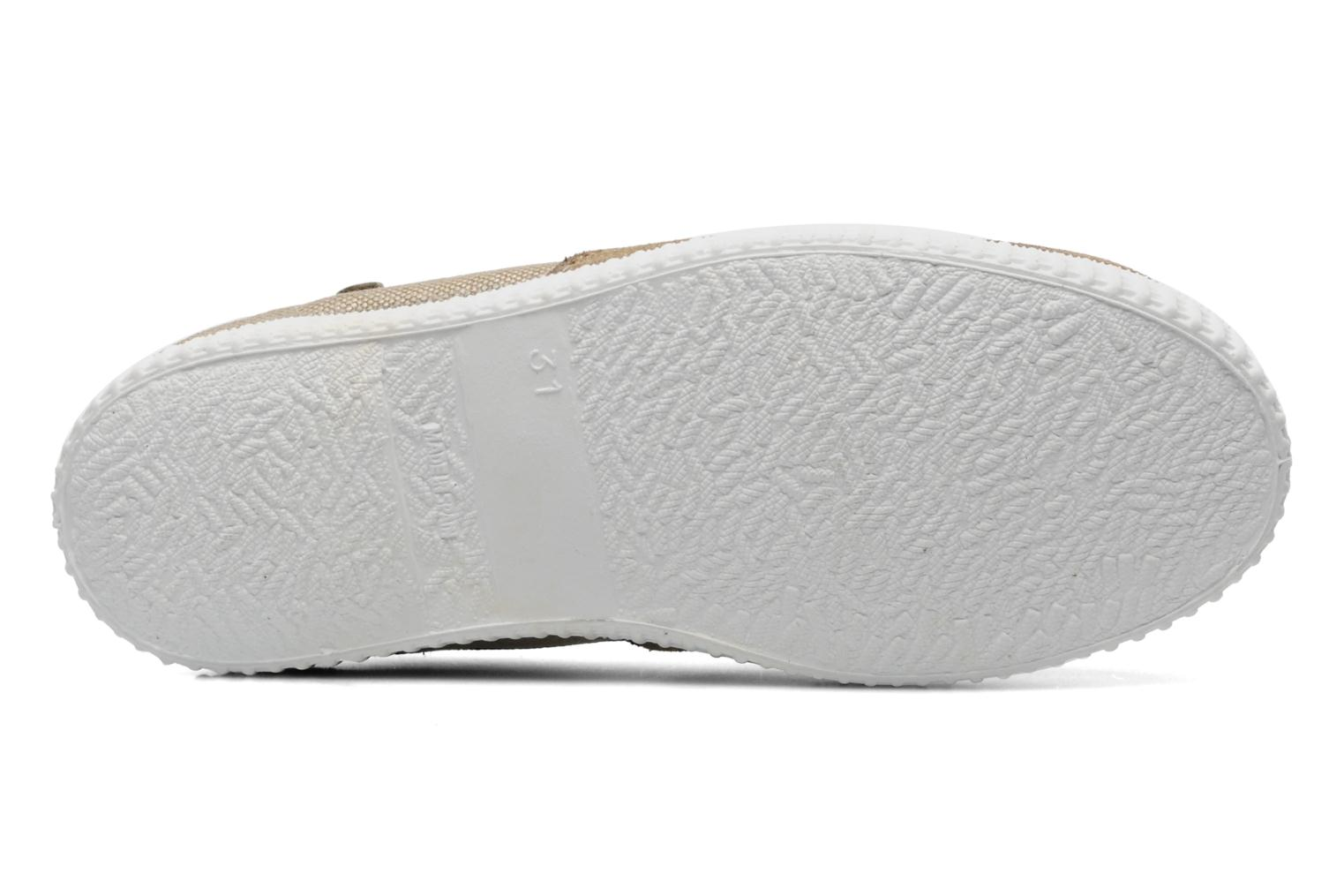 Trainers Buggy Vag Beige view from above