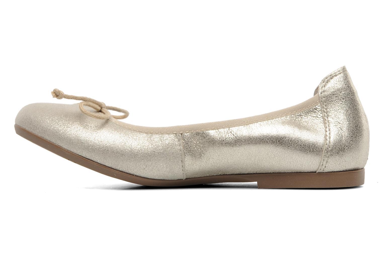 Ballerines Acebo's Camelia Or et bronze vue face